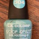 L A Colors Color Craze Nail Polish #504 Sea Foam