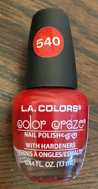 L A Colors Color Craze Nail Polish #540 Animated