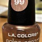 L A Colors Color Craze Nail Polish #99 Rose Fold