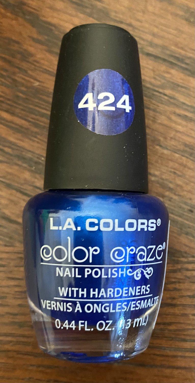 L A Colors Color Craze Nail Polish #424 Wired