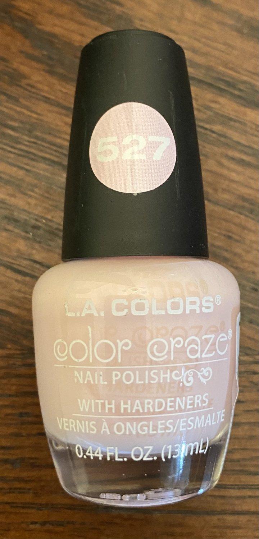 L A Colors Color Craze Nail Polish #527 Delicate