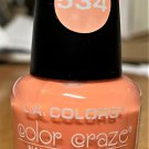 L A Colors Color Craze Nail Polish #534 Hottie