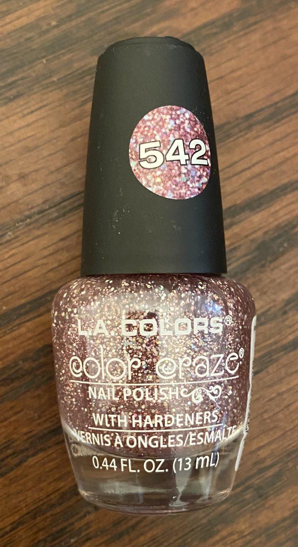 L A Colors Color Craze Nail Polish #542 Cocktail