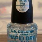 L A Colors Color Craze Nail Polish #601 Rapid Dry Topcoat