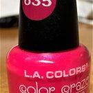 L A Colors Color Craze Nail Polish #635 Bam