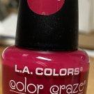 L A Colors Color Craze Nail Polish #654 Hibiscus