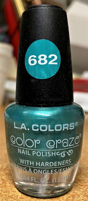 L A Colors Color Craze Nail Polish #682 Greek Isles