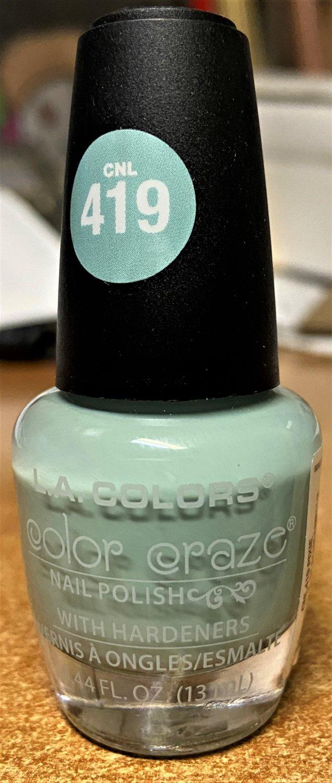 L A Colors Color Craze Nail Polish #CNL419 Pixie