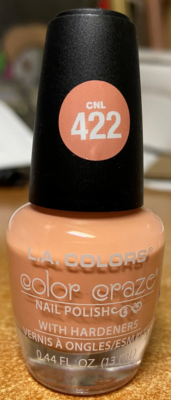 L A Colors Color Craze Nail Polish #CNL422 Revitalize