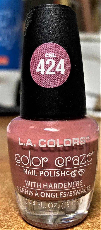 L A Colors Color Craze Nail Polish #CNL424 Oh Snap
