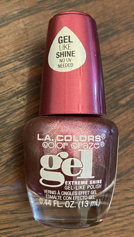 L A Colors Color Craze Gel Nail Polish #209 Ravish