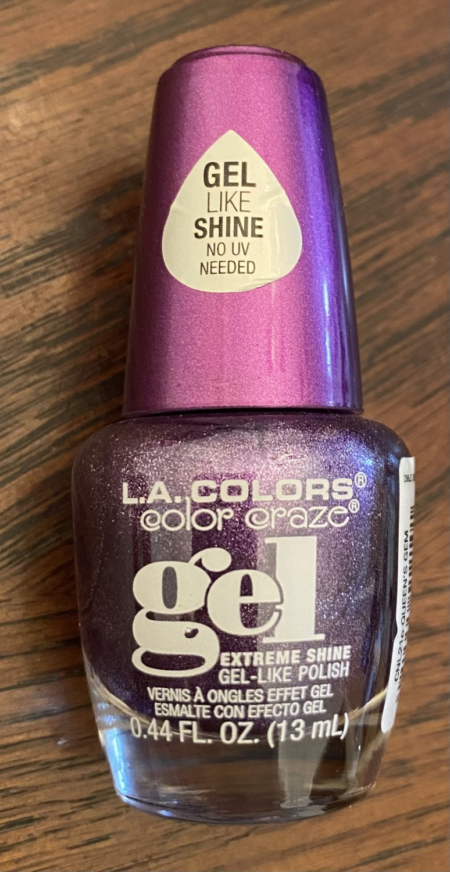 L A Colors Color Craze Gel Nail Polish #210 Queen's Gem