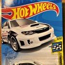 2021 Hot Wheels #68 Subaru WRX STi WHITE