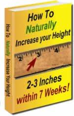 7 weeks Height Increase Stretch Manual & Bonus Tips Ebook PDF Format!