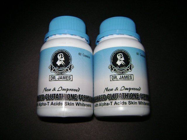 3 bottle Dr. James USA Glutathione 60 capsules (FREE SHIPPING)