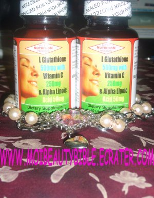 1 bottle Best Nutrition L-Glutathione 800mg USA 60 capsules (FREE SHIPPING)