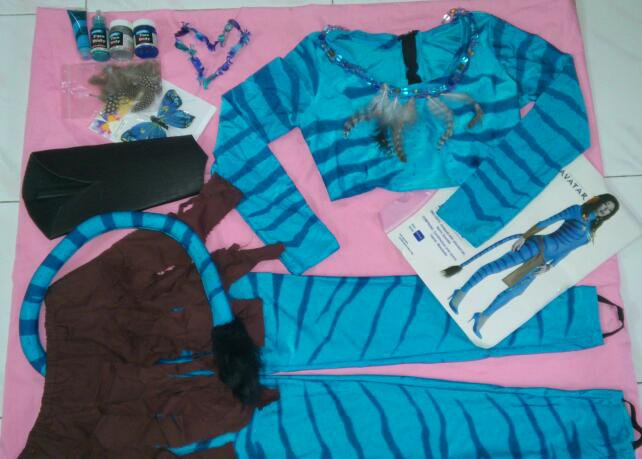 (WORTH USD$199)Womenu0027s Avatar - Neytiri Costume (Faceu0026Body Paint) & WORTH USD$199)Womenu0027s Avatar - Neytiri Costume (Faceu0026Body Paint)