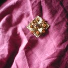 Gold Metal Brooch