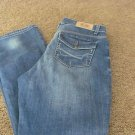 NINE WEST V.A.C. NEWPORT JEANS Size 8 Mid rise Boot Cut