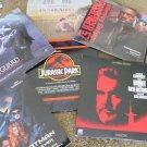 LASER DISC MOVIES 6 JURASSIC THE HUNT BATMAN PASSENGER 57 BODYGUARD OUT OF AFRIC
