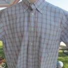 CARROLL & CO BEVERLY HILLS Shirt BLUE PLAID Switzerland  BRULI MEDIUM