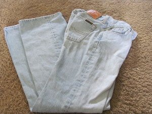 LUCKY BRAND DUNGAREES Size 4 style: 81UZ070 Low Boot EUC Light