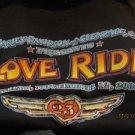 Harley Davidson T-Shirt Men's Glendale LOVE RIDE 2006