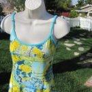 HIP UP  DRESS/SWIM SUIT COVER UP Size Small Glitter Embellished   LA/USA