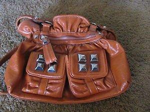 KATHY VAN ZEELAND Handbag Burnt Orange EXCELLENT CONDITION