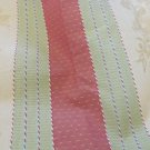 "FABRICS GOLD RUST GREEN DAMASK STRIPE 54 X 68"" Piece"