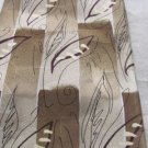 "J GARCIA NECKWEAR TIE  SILK ""Lunch Collection Twenty Seven"" Brown Silver Taupe"
