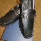 JOSEPH ABOUND Genoa Black Loafer Leather Slip On Size 10 NIB