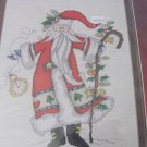 DESIGNS FOR THE NEEDLE COUNTED CROSS STITCH 1981 Father Christmas 14 x 17