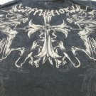 AFFLICTION LOS ANGELES XL BLACK Tee Graphic