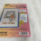 JANLYNN COUNTED CROSS STITCH KIT 157-44 Cat-A-Tudes Bird Patrol 5 x 7