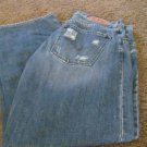 GUESS JEANS MENS Destroy 32 X  31 ½  EUC AUTHENTIC ORIGINAL Distress