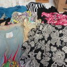 MIXED LOT CLOTHING  Skirts Tops Dresses Trump Ricco Tosca Rubber Ducky SMALL