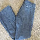SECRET SOCIETY JEANS Size 27 x  33 NWOT Black Pants Classic