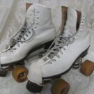 VINTAGE ROLLER SKATES Powell & Bones 60MM Sure Grip Plates White 7 Plates #5