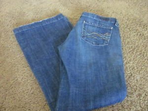 CITIZENS OF HUMANITY COH Kate Low Rise Full Leg #066 29 X 33 EUC Jeans Denim