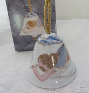"""LLADRO  8078 """"ANGELIC MELODY BELL""""  In Box / Retired 2008"""
