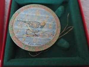 P BUCKLEY ANNA PERENNA A Partridge in a Pear Tree Ornament F506/5000