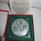 P BUCKLEY ANNA PERENNA ART ORNAMENT ELEVEN PIPERS PIPPING B3437/5000 Porcelain
