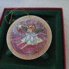 P BUCKLEY ANNA PERENNA ART ORNAMENT BLESSED Angel B3658/5000 Porcelain