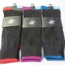 NEW BEVERLY HILLS POLO CLUB SOCKS Mens  Shoe Size 6-12   3 pair Sock Size 10-13