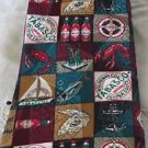 TABASCO TIE 4 way hand tie  Novelty Collectible Neck Wear Silk USA Classic NWT