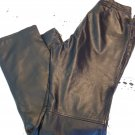 HARLEY DAVIDSON LEATHER PANTS Size 10 38/W 32.5 Length Vented 97078-02VW