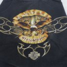 HARLEY DAVIDSON TEE XL BLACK Classic Maui Hawaii 2003 Eagle