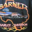 HARLEY DAVIDSON TEE BLACK XXL Vintage BARNETT EL PASO TX 2000 Eagle HOLOUBEK