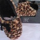 INC INTERNATIONAL CONCEPTS SLIPPERS Leopard Animal Print XL11-12 NEW